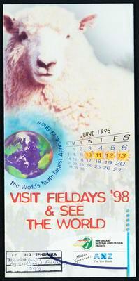 Visit Fieldays '98 & see the world