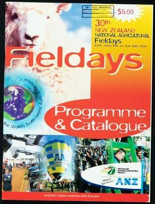 Fieldays programme and catalogue