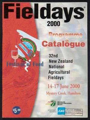 Fieldays 2000 programme and catalogue