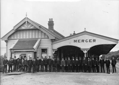 Mercer Railway Station staff