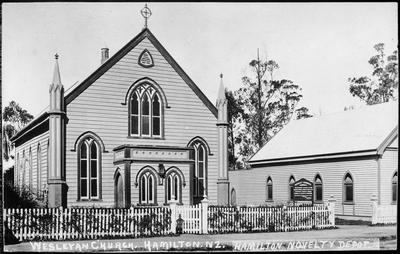 """""""Wesleyan Church. Hamilton. NZ."""""""