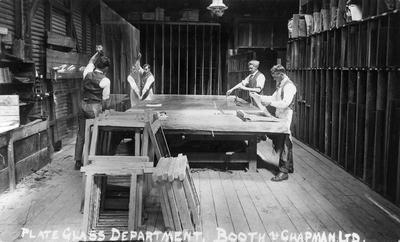 """""""Plate Gass Department, Booth & Chapman Ltd"""""""