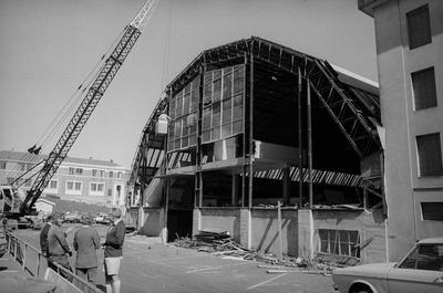 The removal of Bledisloe Hall