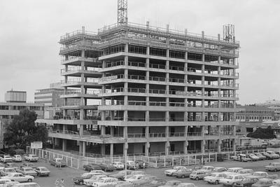 The Government Life building under construction