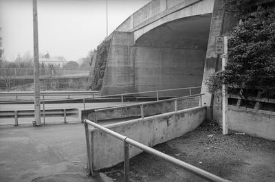 The bridge across Claudelands Road
