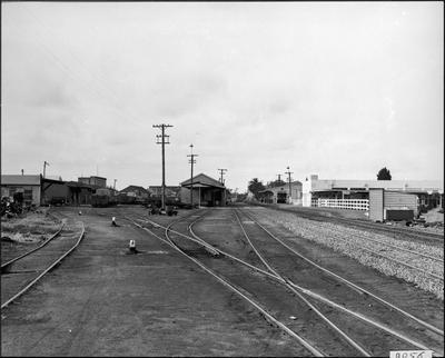 Hamilton Railway Station yards