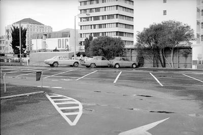 Central city car park and Garden Place