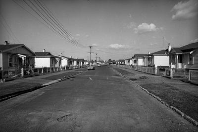 Railway houses in Frankton