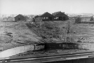 Frankton railway station locomotive sheds