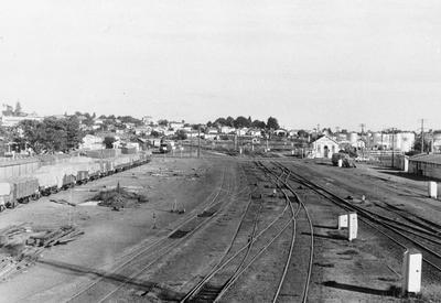 Frankton Railway station looking south east