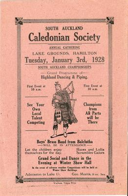South Auckland Caledonian Society annual gathering