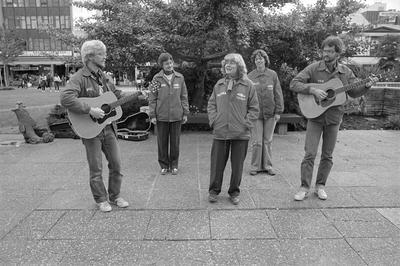 American Lutherans perform in Garden Place