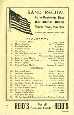 US Marine Corps Band recital