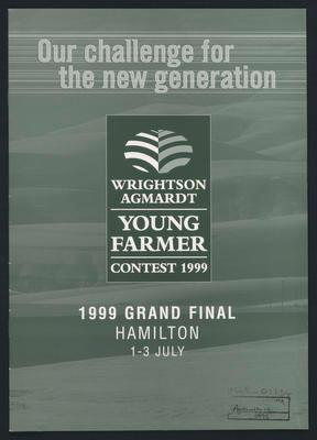 Young farmer contest 1999