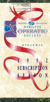 Subscription leaflet, 1992