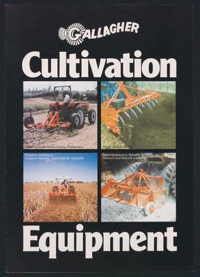 Gallagher Cultivation Equipment