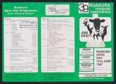 Ruakura Farmers Conference