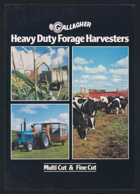 Gallagher Heavy Duty Forage Harvesters