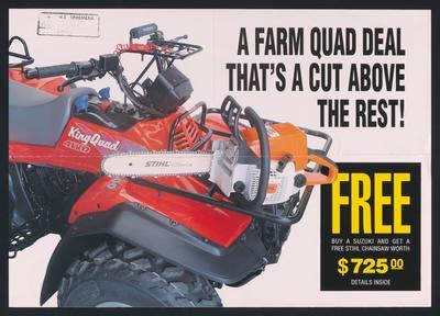 A Farm Quad Deal That's a cut above the rest!