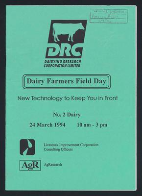 Diary Farmers Field Day