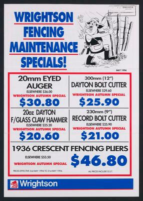 Wrightson Fencing Maintenance Specials