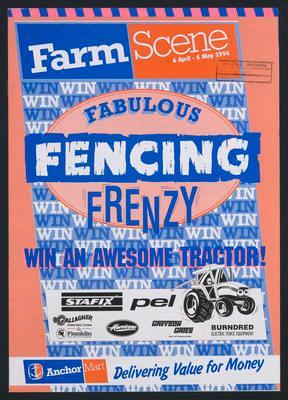 Farm Scene Fabulour Fencing Frenzy