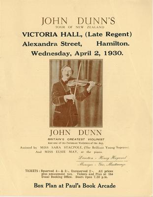 John Dunn, 1930