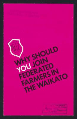 Why should you join federated farmers in the Waikato