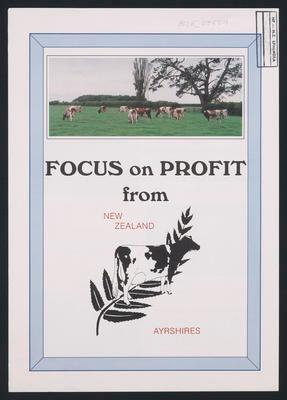 Focus on Profit from New Zealand Ayrshires