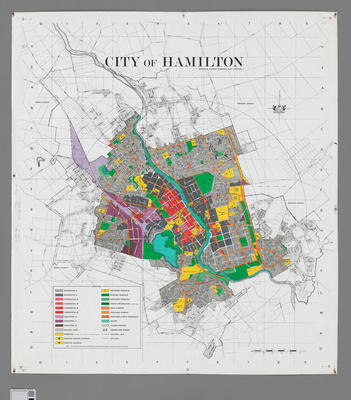 City of Hamilton district plan map
