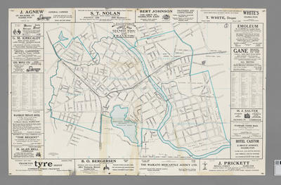 Leighton's street map of Hamilton and Frankton