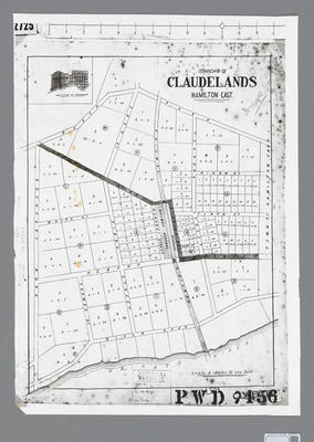 A map of Claudelands Township