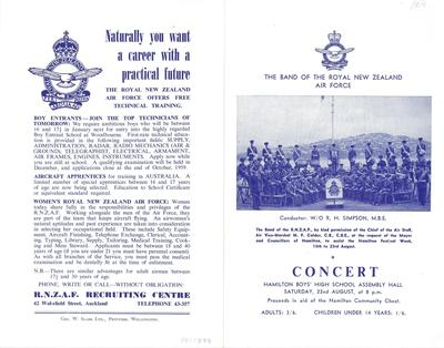 Band of the Royal New Zealand Air Force