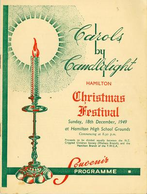 Carols by Candlelight, 1949