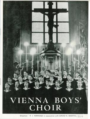 Vienna Boys' Choir 1954