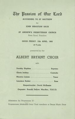 Albert Bryant Choir