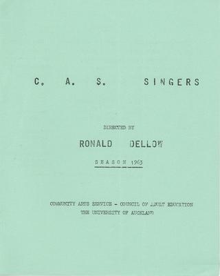 C. A. S. Singers