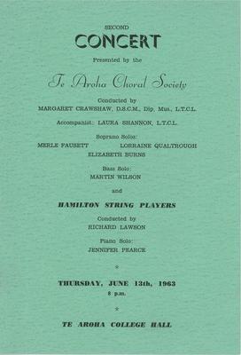 Te Aroha Choral Society