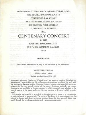 Centenary Concert