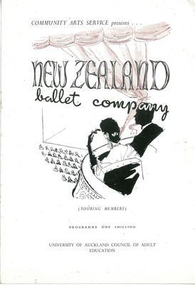 New Zealand Ballet c1955