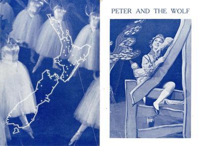 New Zealand Ballet schools tour 1962