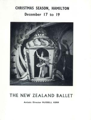 New Zealand Ballet Christmas season 1964