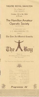 The Boy, 1934