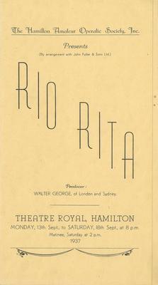Rio Rita, 1937