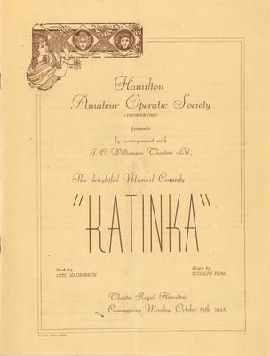 Katinka, 1945