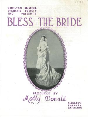 Bless the Bride, 1958