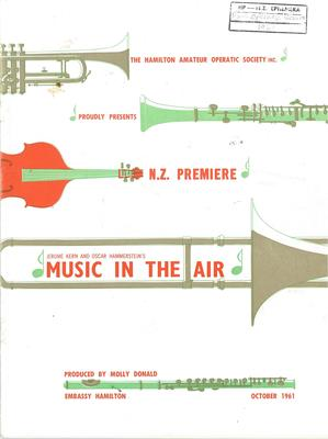 Music in the Air, 1961