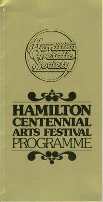 Hamilton Centennial Festival of Arts, 1978
