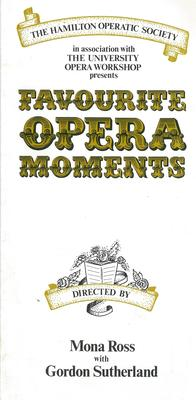 Favourite Opera Moments, 1979