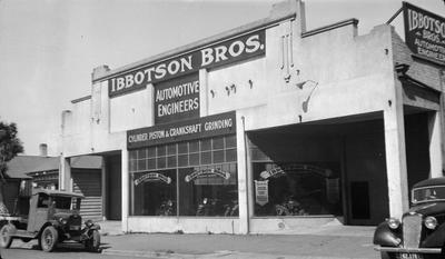 Ibbotson Bros on Alma Street